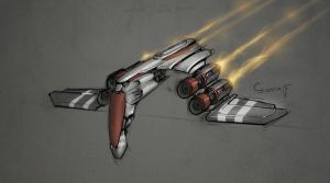 Cool fighter by CucumberBoy