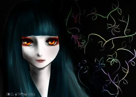 Hell Girl: Ai Enma by Athena-King