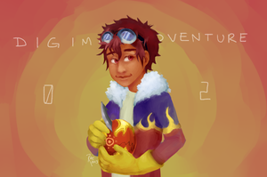 [DIGIMON] Davis by kappakeki