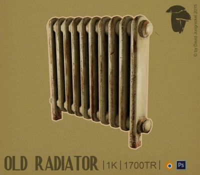 Old Radiator [GAME ASSET] by shcadeYuVE