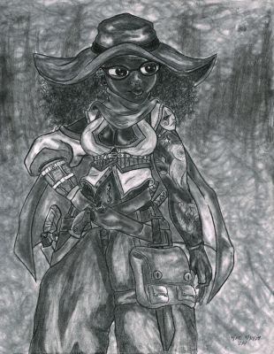 Charlie in Scavenger mode by Amoryl