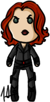 Marvel Cinematic Universe - Black Widow (A) by shrimp-pops