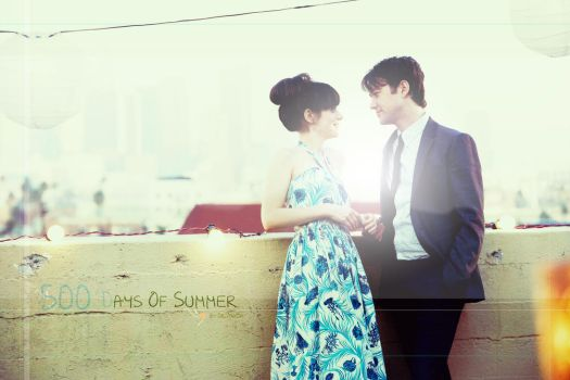 500 Days Of Summer wallpaper by Dr-7maDa