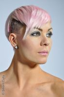 Twinky (Twiggy crossed with Pink, for Short Cuts) by Make-upArtist