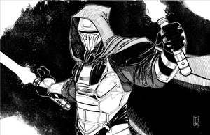 Darth Revan Inks by Hodges-Art
