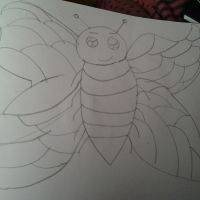 butterfly. by alisonporter1994