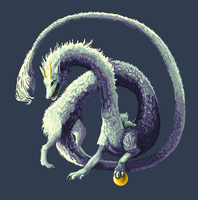 A pixeldragon by cottondragon