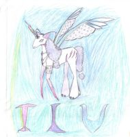 BUBBLEGOTHIC UNICORN by AngelicsDaughter