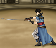 SS - Lonqu by LadyNoise