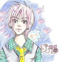 SCRAP: Doshi in Colored Pencil by YoshikoFuru
