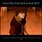 Calling the Old Man Out by SaucePear