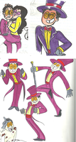 the warden from superjail! by kapoldi