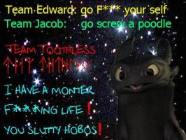 """Team Toothless """"strong-words"""" by rhodestwins"""