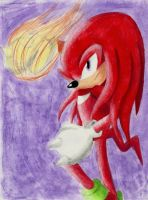 Knuckles The Echidna by TatsuoMizushima