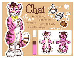 Chai the Tiger - Ref by OEmilyThePenguinO