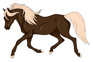 Trotting Horse by Gothie666