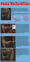 Quick Guide to Photo Restoring by lizstaley