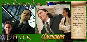 Loki: Thor vs. Avengers (suit) by D-AMJ-C