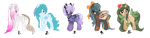 [CLOSED AUCTION] Pony Adopts by EventidePonies