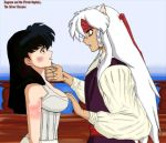 Pirate Cpt. Hanyou and Kagome by SailorX