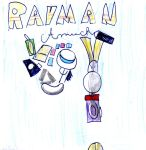 Rayman Amuck-Cover by zigaudrey