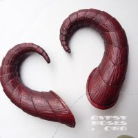 Sugarplum Nuala Costume Horns by che4u