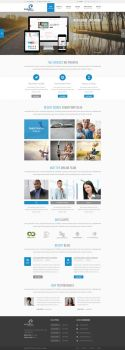 Wordpress Design for Instant IT Solution by irfan96