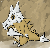 Cubone by Hectichermit