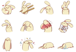 MORE BEAN RABBITS by Bunni-Hime