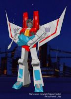 Starscream color by ShinGallon