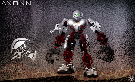 BIONICLE Axonn by MikomDude