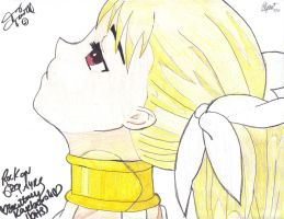 Dance In The Vampire Bund Mina Drawing Signed by kikyo4ever