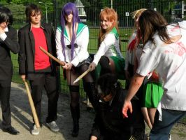 Animecon: Highschool Of The Dead by Miko-Bura