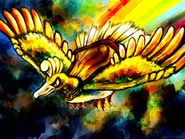 Prosphora the Ho-oh by Haychel