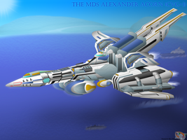 Above the Open Ocean - MDS AA by Hazard-the-Porgoyle