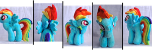 Rather Dashing Plush by weRDunfo