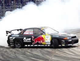 Redbull Drift Team Thailand Skyline R32 by sudro