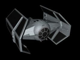 Darth Vader's TIE fighter by metlesitsfleetyards