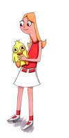 Candace and Ducky Momo by Super-kip