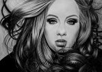 ADELE by AngelasPortraits