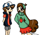 Colored and Shaded by Ask-Mabel-And-Dipper