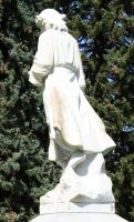 Mount Olivet Cemetery Woman 139 by Falln-Stock