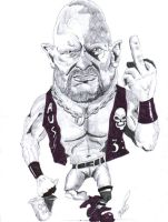 Stone Cold caricature by Steveroberts