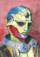 Mass Effect 2-The Assassin, Thane Krios by SpaceBoy969