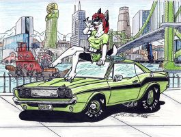 Challenger City by Sketchywolf-13