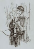 Gift - Lily and Bishop by tankgirly