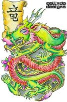 Asian Dragon 1 by ColladoDesigns