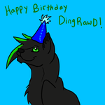 DingRawD B-day! by CourtneyCat101