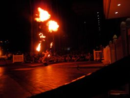 Metrocon 09: Fire Show 2 by Rose-Vicious