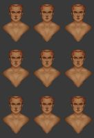 Male Face Templates by theblacklotus92